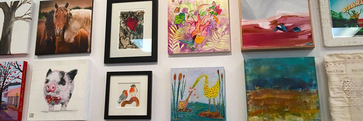 Hearts for the Arts Art Auction at Artisan's Gallery through February 13th in support of arts education.